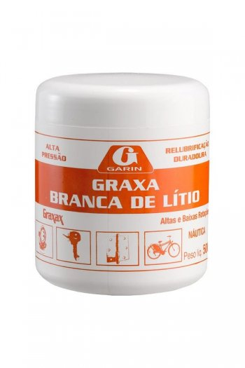 GRAXA BRANCA DE LITIO - NAUTICA 500G