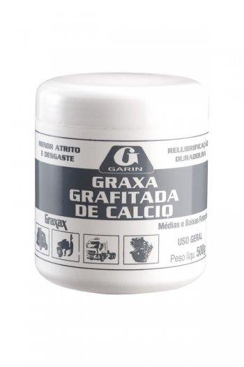 GRAXA BRANCA DE CALCIO 500G GARIN